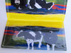 Holstein cow checkbook cover - Cow Art and More