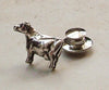 Holstein Dairy Cow tie tac - Cow Art and More