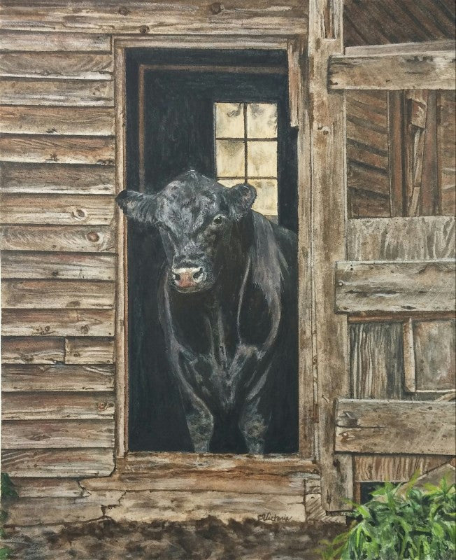 Ferdinand the Bull - Cow Art and More