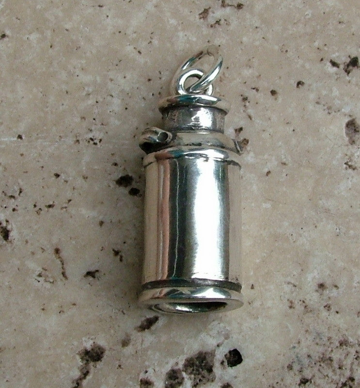 Milk Can Charm - Cow Art and More