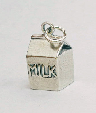 Milk carton charm - Cow Art and More