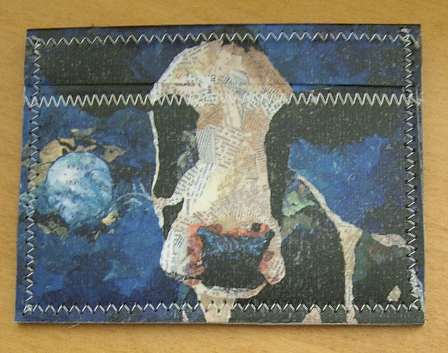 Cow Mini Wallet - Cow Art and More