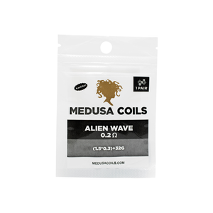 Alien Clapton Pre Made Coils by Medusa