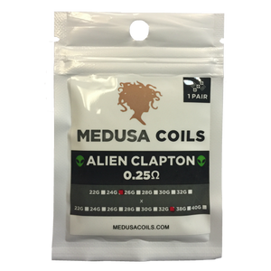 Alien Clapton Pair by Medusa Coils