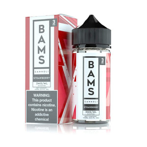 100ML | Strawberry Cannoli by Bam's Cannoli