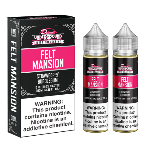 100ML | Felt Mansion by Detroit Underground Juice Collective
