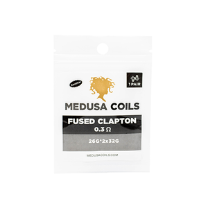 Fused Clapton Pre Made Coils by Medusa Coils