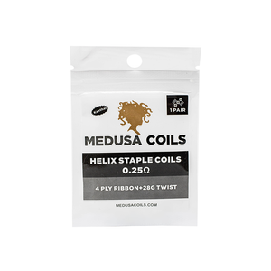 Helix Staple Pre Made Coils by Medusa Coils