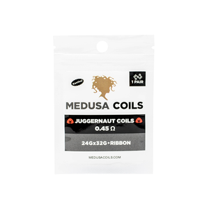 Juggernaut Pre Made Coils by Medusa Coils
