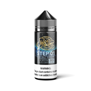 120ML | Step 01 by Lost Dreams Vape Co