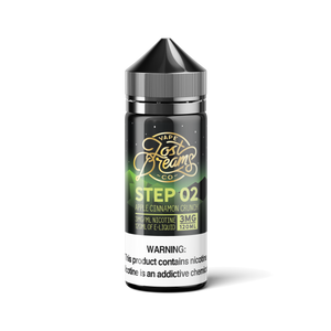 120ML | Step 02 by Lost Dreams Vape Co