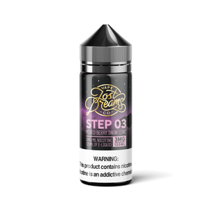 120ML | Step 03 by Lost Dreams Vape Co