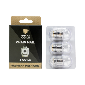 VALYRIAN MESH CHAIN MAIL BY MEDUSA COILS (3 PACK)
