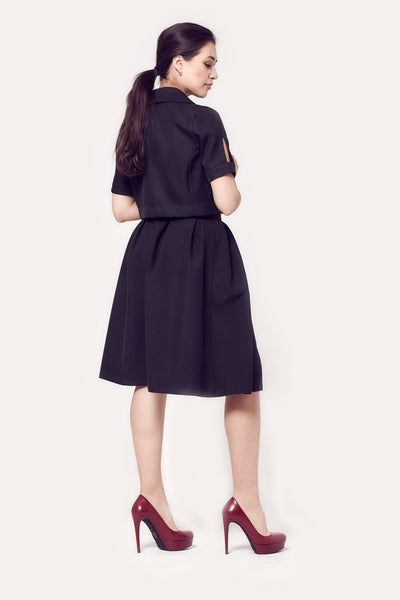 Rita Soft Pleated Skirt