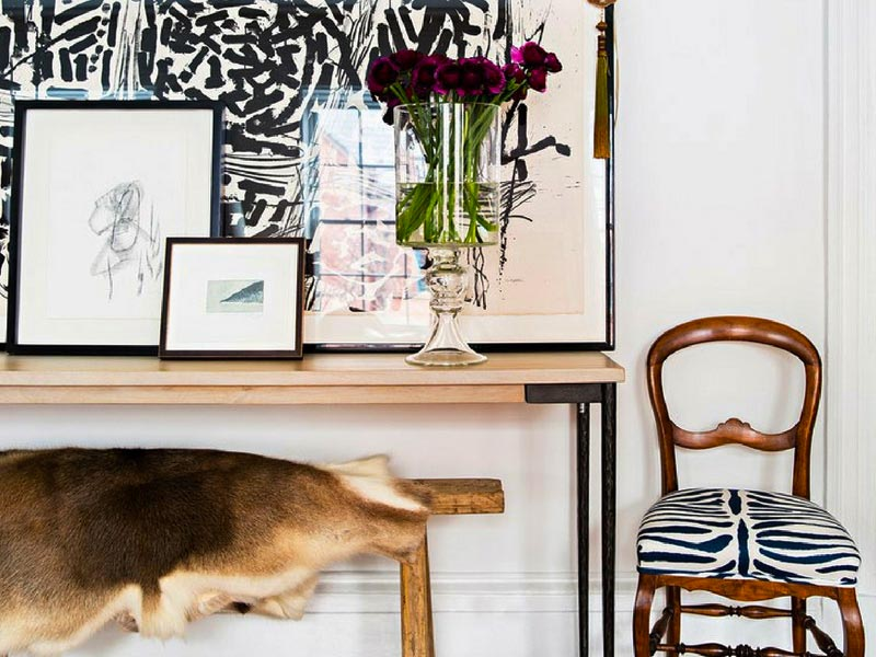 6 Seriously Chic Styling Ideas For Your New Hide Rug