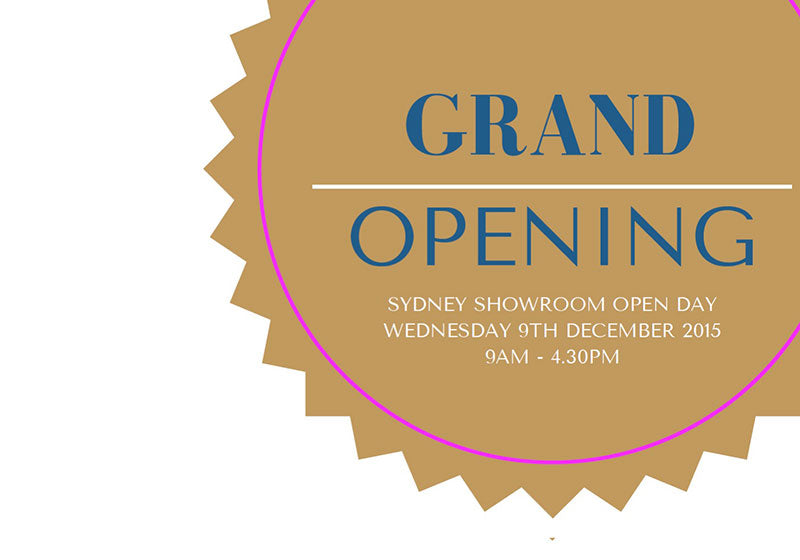 Wholesale Showroom Open Day On 9th December