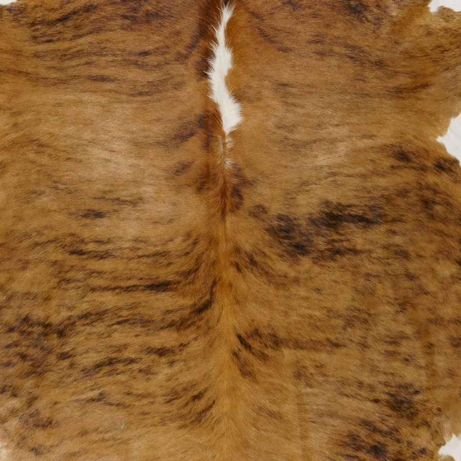 Cowhide white belly white spine