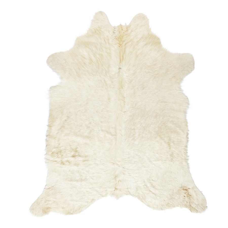 Cowhide Rug - Solid White