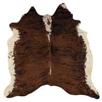 Cowhide Rug - White Belly White Spine (Small)