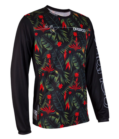MAILLOT GRAVITY POUR HOMMES DHaRCO   DH TROPICALE