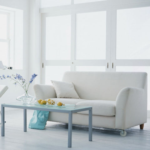 White design sofa