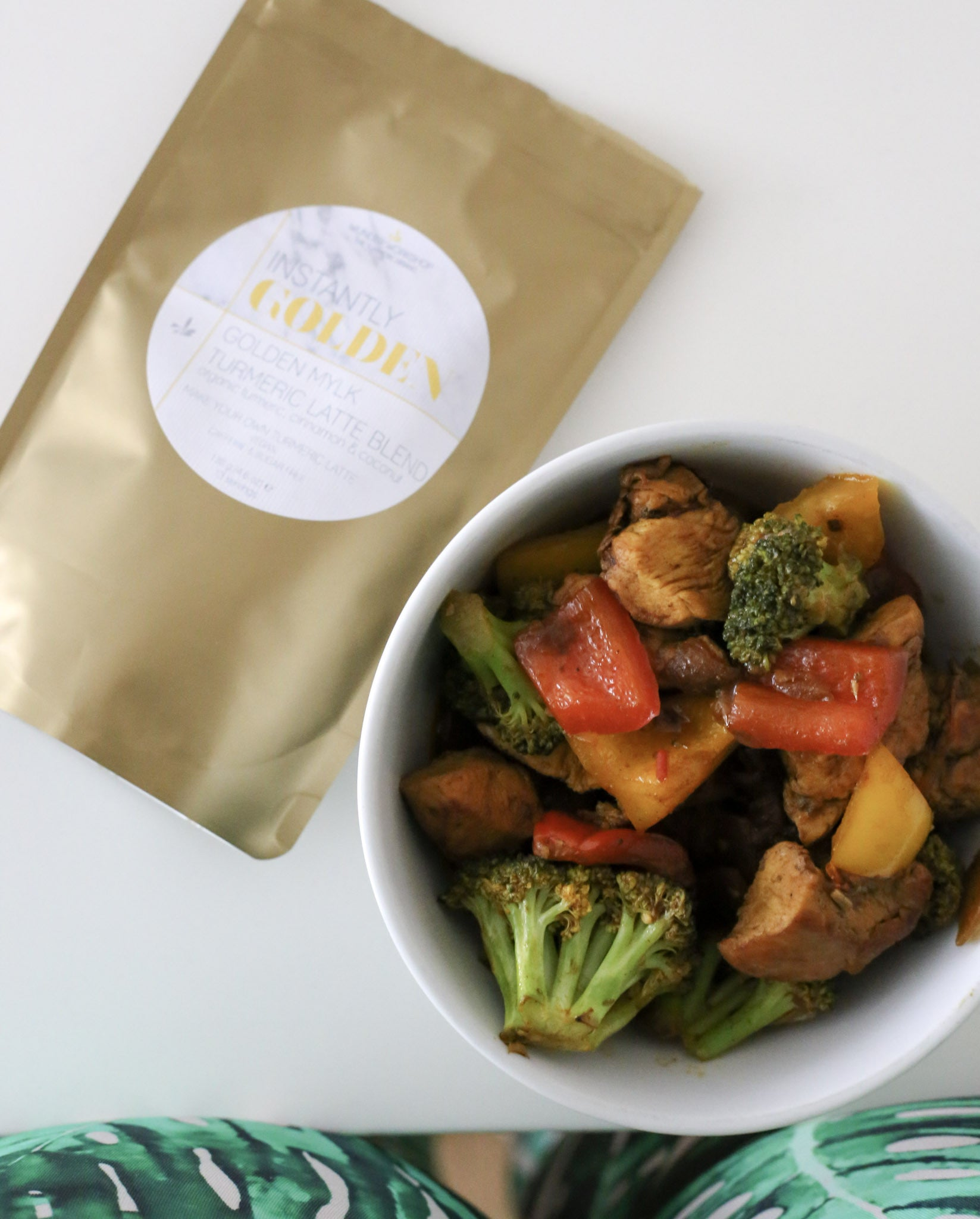 Golden Milk Tumeric Latte Stir Fry