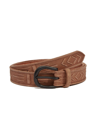 Asos Handcarved Leather Belt