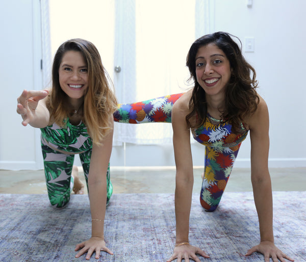 SHAKTIBARRE Co-founders, Corinne and Shauny