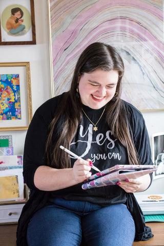 Meet Danielle Rothman, The Artist Behind Our 'Yes You Can' Tee