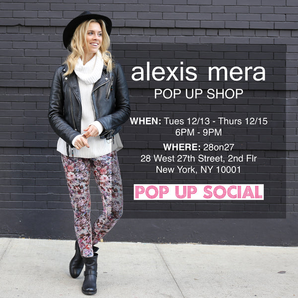 Pop Up Social Event - Alexis Mera