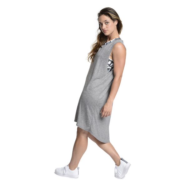 Grey Heather Muscle Dress