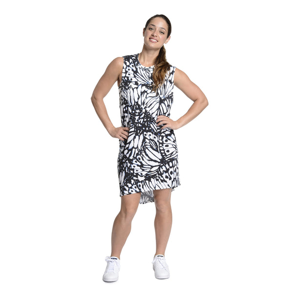 Stencil Butterfly Muscle Dress