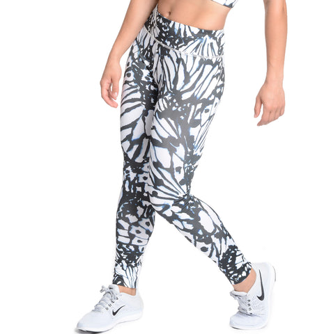 Stencil Butterfly High Rise Legging