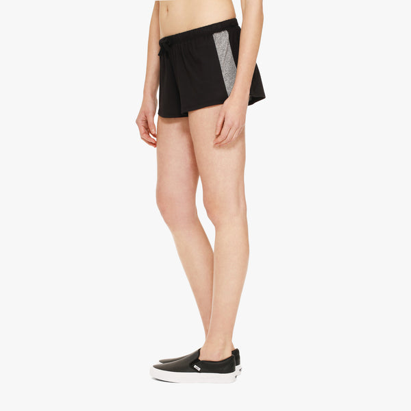 Women's Black Boxer Short