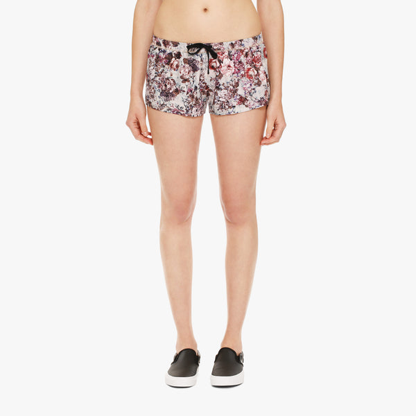 Women's Floral Boxer Short
