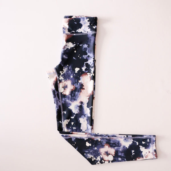 High Rise Legging in Cosmic Night