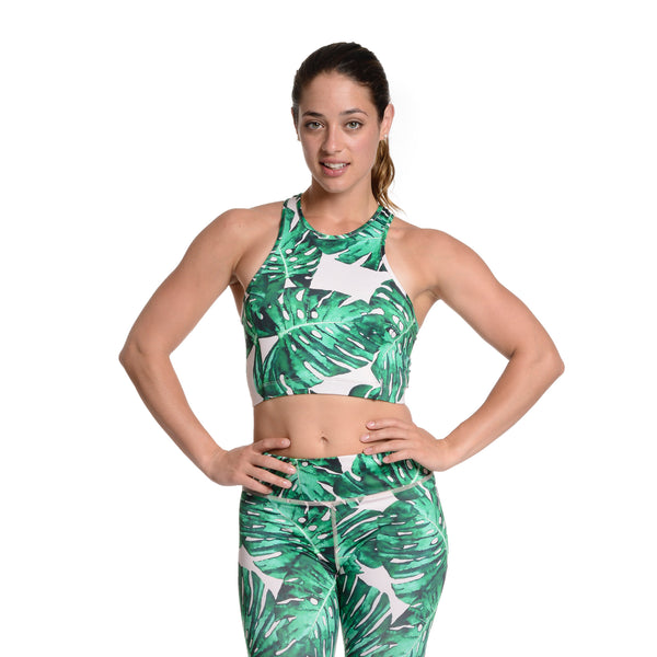 Jungle Fever Crop Bra