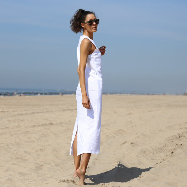 Albemarle Maxi Dress in White