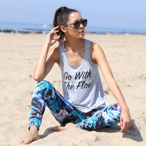 Go With The Flow Racerback Tank