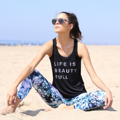Life Is Beauty Full Graphic Tank