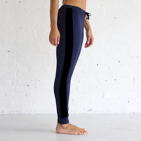 Jogger Pants in Navy & Black