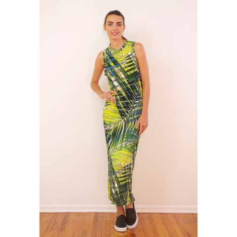 Albermarle Maxi Dress in Rio Palm Print