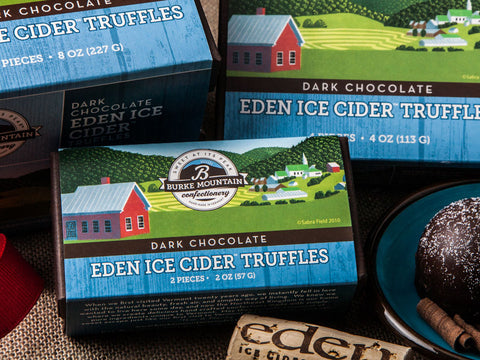 Dark Chocolate Eden Ice Cider™ Truffles