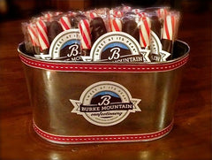 Hand-Dipped Dark Chocolate Peppermint Sticks