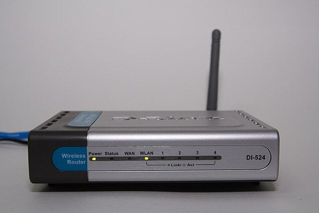 wifi router in early years