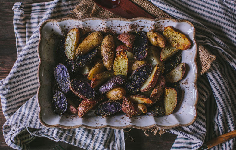 Roast Fingerling Potatoes with Rosemary