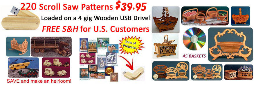 scroll saw patterns packs and books for free and charge scrollsaw projects