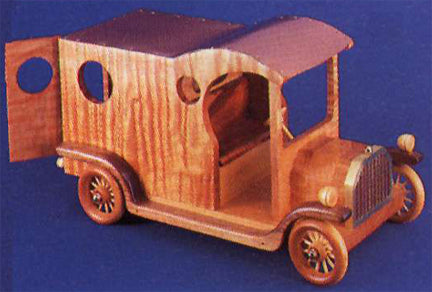 1912 Model T Delivery Detailed Auto Patterns