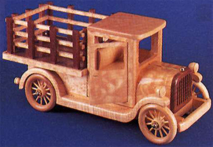 1926 Model AA Stakebed Detailed Auto Pattern