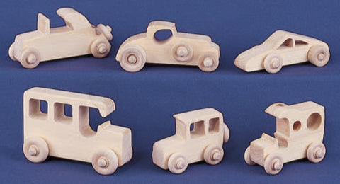 21 Mini Car & Truck Patterns